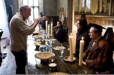 Behind the scenes of Harry Potter - Alan Rickman
