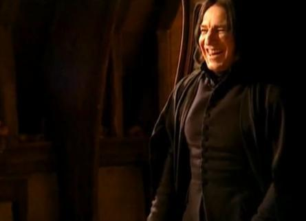 severus snape fondo de pantalla called Behind the scenes of Harry Potter - Alan Rickman