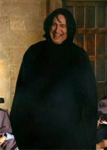 Severus Snape achtergrond called Behind the scenes of Harry Potter - Alan Rickman