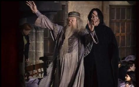 severus snape fondo de pantalla titled Behind the scenes of Harry Potter - Alan Rickman