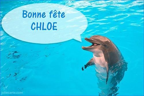 Bonne fête ma Chloé !!! BISOUS