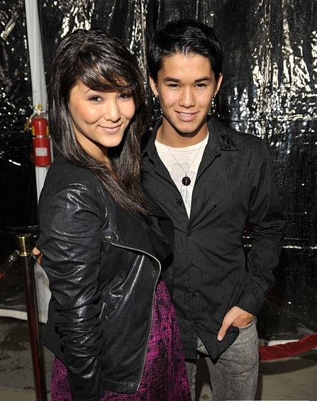 Booboo Stewart at the premiere of the Conviction 05.10.10г