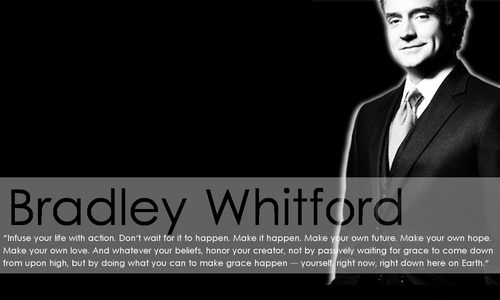 The West Wing wallpaper with a business suit called Bradley Whitford Wallpaper