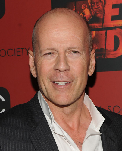 Bruce Willis @ the Cinema Society & OC Concept Screening Of 'Red'