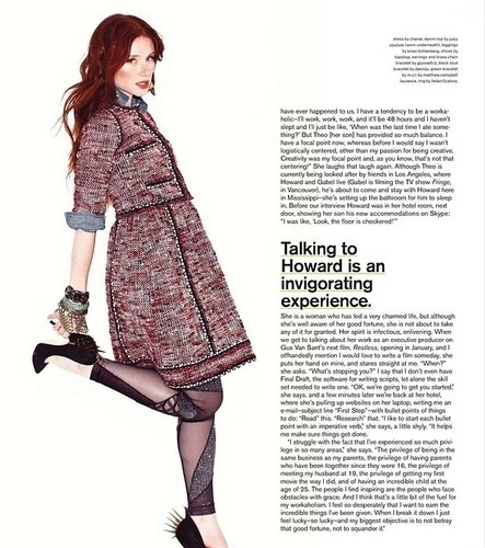 Bryce Dallas Howard at the Nylon Magazine 2010