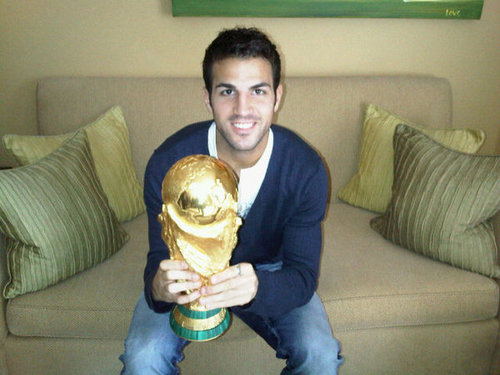 Cesc new twitter picture