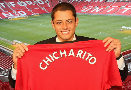 Chicharito wallpaper probably containing a sweatshirt called Chicharito