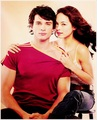 Clark Kent & Lana Lang - smallville photo