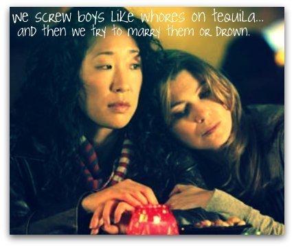 Cristina and Meredith <3