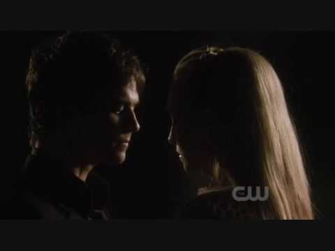 Damon and Caroline
