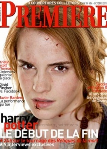 Deathly Hallows alternative premiere Magazine covers