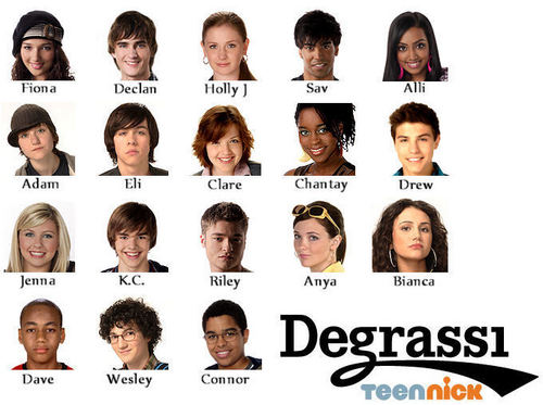 Degrassi 페이스북 Taggable!!!