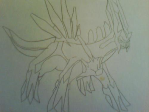Dialga (drawed द्वारा catgirl140)