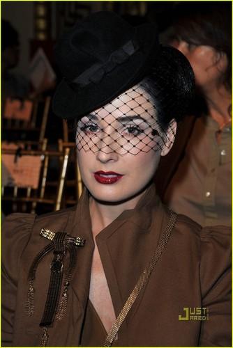 Dita Von Teese: John Galliano Gorgeous
