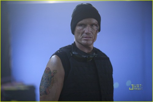 Dolph Lundgren in The Expendables