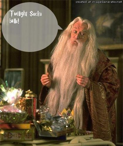 Dumbeldore speaks the truth.