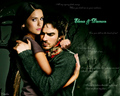 the-vampire-diaries - Elena &amp; Damon wallpaper