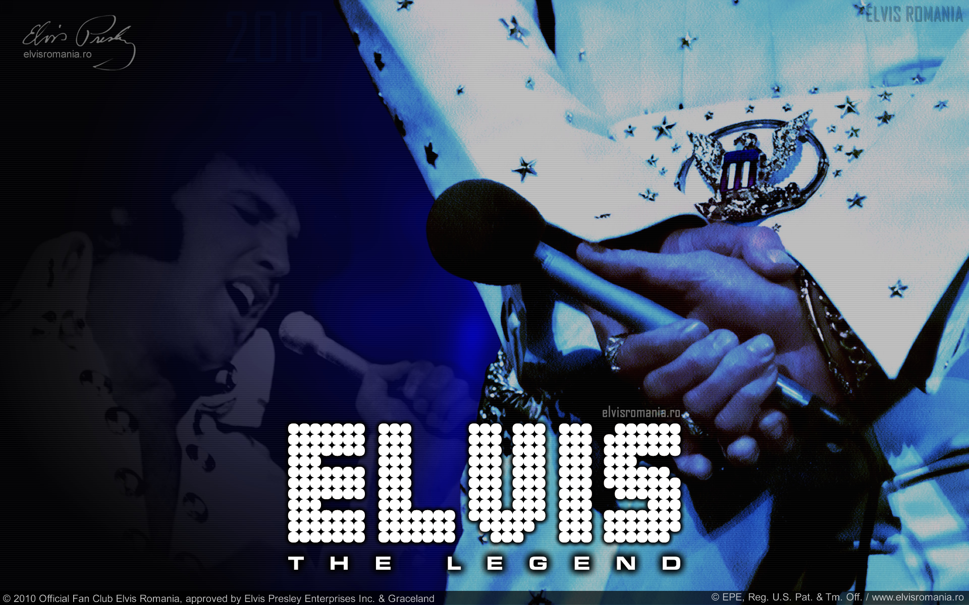 Elvis Romania wallpaper