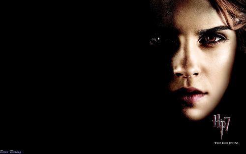 Emma Watson/Hermione Granger HP7 Hintergründe