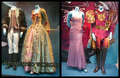 encantada costumes on display.