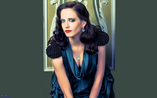 Eva Green wallpaper with a cocktail dress and a dinner dress called Eva Green (new)
