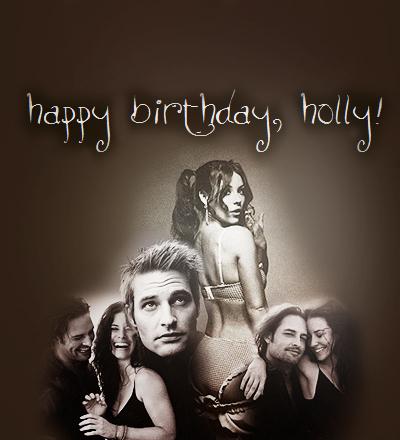 Happy Birthday, hulst, holly ♥