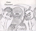 Happy Hyena Halloween! - hyenas-from-lion-king fan art