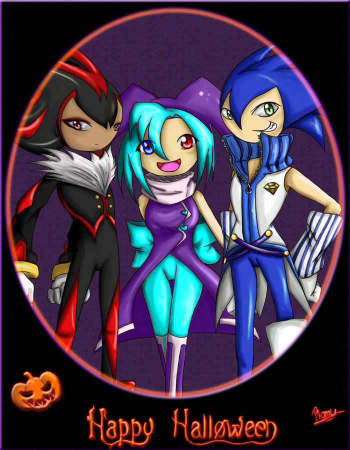 sonicachan images happy halloween everyone hd wallpaper and background photos