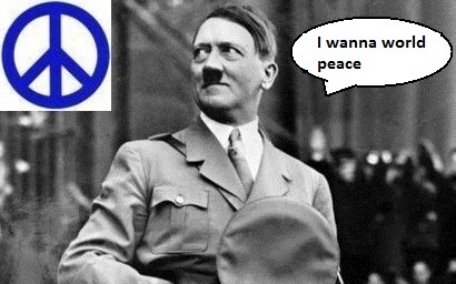 Hitler like world peace