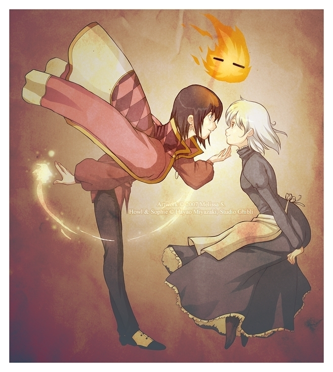 Howl and Sophie - Howl and Sophie Fan Art (16098167) - Fanpop