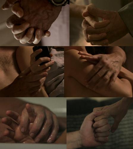 Huddy hands II