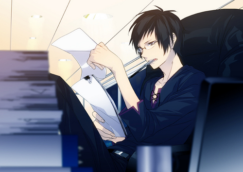 1Izaya Orihara wallpaper probably with a business suit entitled Izaya Orihara