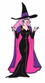 Jem dress as a witch for halloween