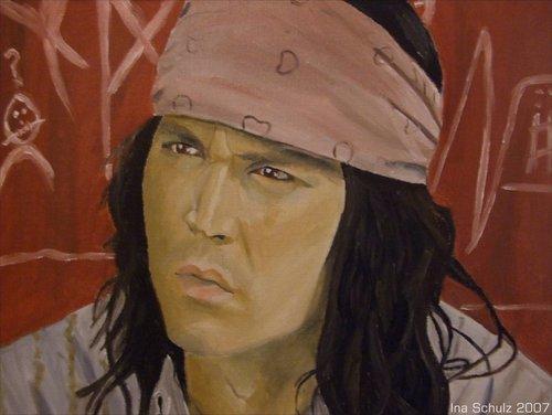 Johnny Depp-Paintings