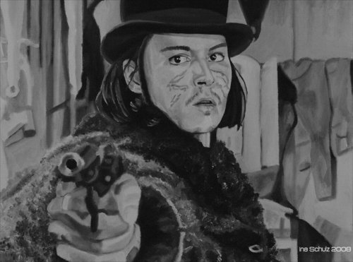 Johnny Depp-Paintings