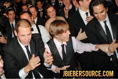 Justin bieber at dankanters wedding