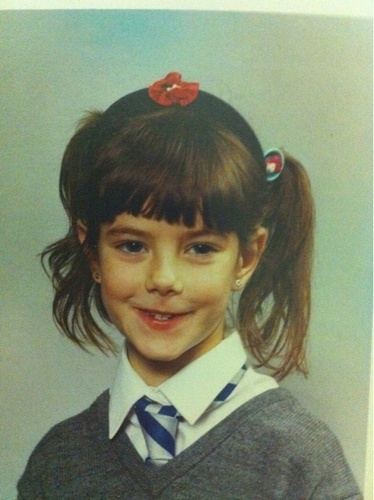 Skins achtergrond probably with a portrait titled Kaya Scodelario when she was 8:)
