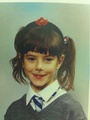 Kaya Scodelario when she was 8:)