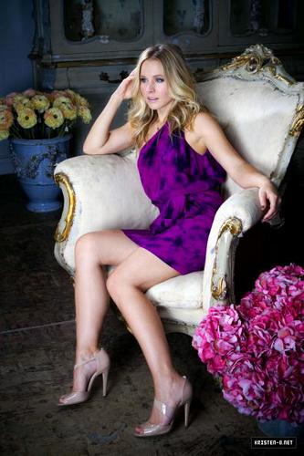 Kristen Bell's photoshoot द्वारा Liz O. Baylen
