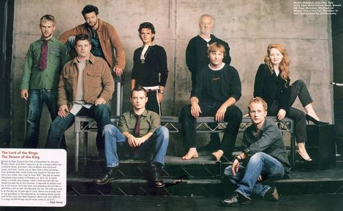 LOTR CAST - lord-of-the-rings Photo