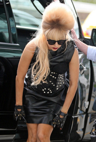 Lady Gaga at YVR