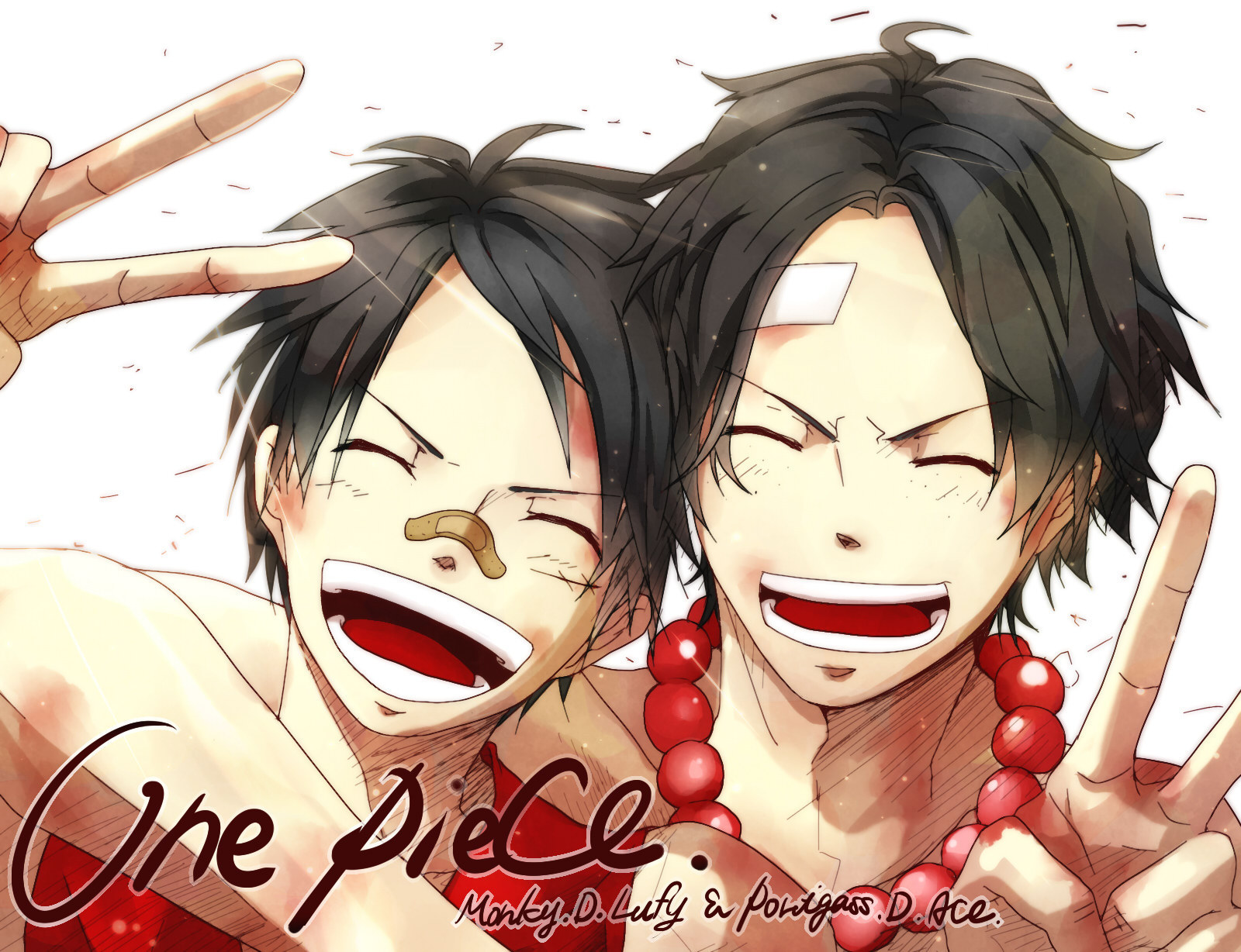brothers luffy and ace wallpaper - photo #24