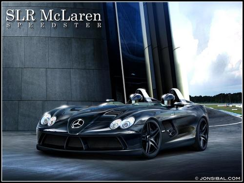 MERCEDES - BENZ SLR McLAREN SPEEDSTER BY JONSIBAL