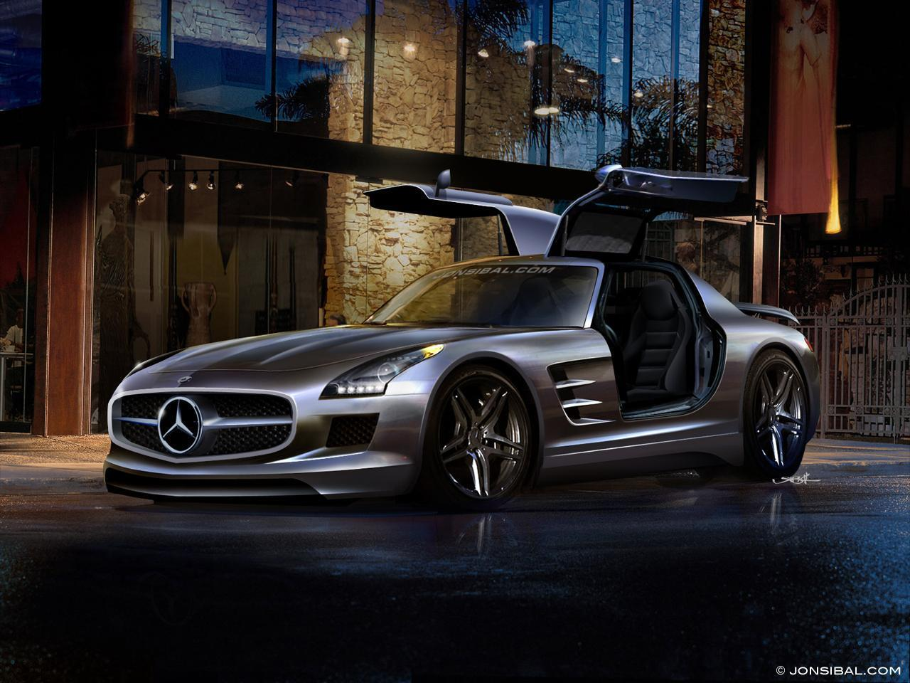 Mercedes Benz Sls Amg By Jonsibal Mercedes Benz