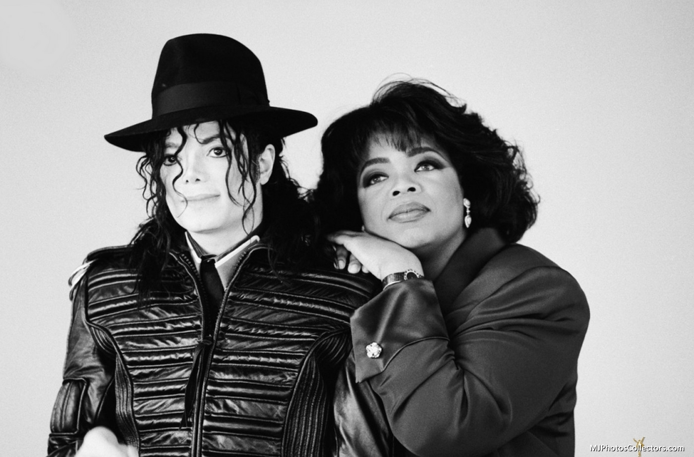 MJ with Oprah