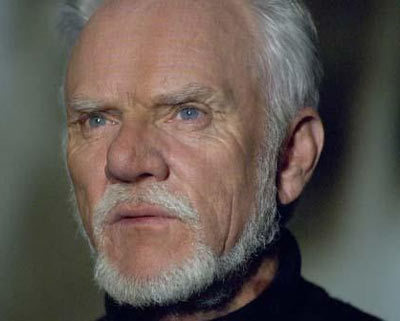 Malcolm Mcdowell - President Snow