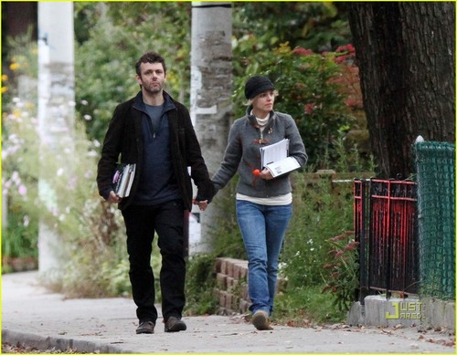 Michael Sheen and Rachel McAdams out in Toronto (October 3)