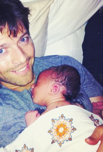 Misha [&his baby!]