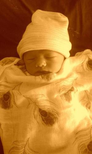 Misha's baby!