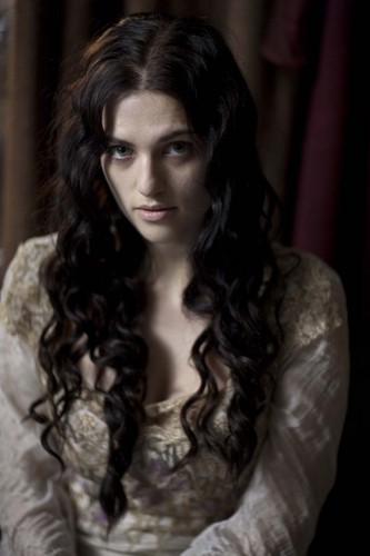 Morgana looks sickly beautiful
